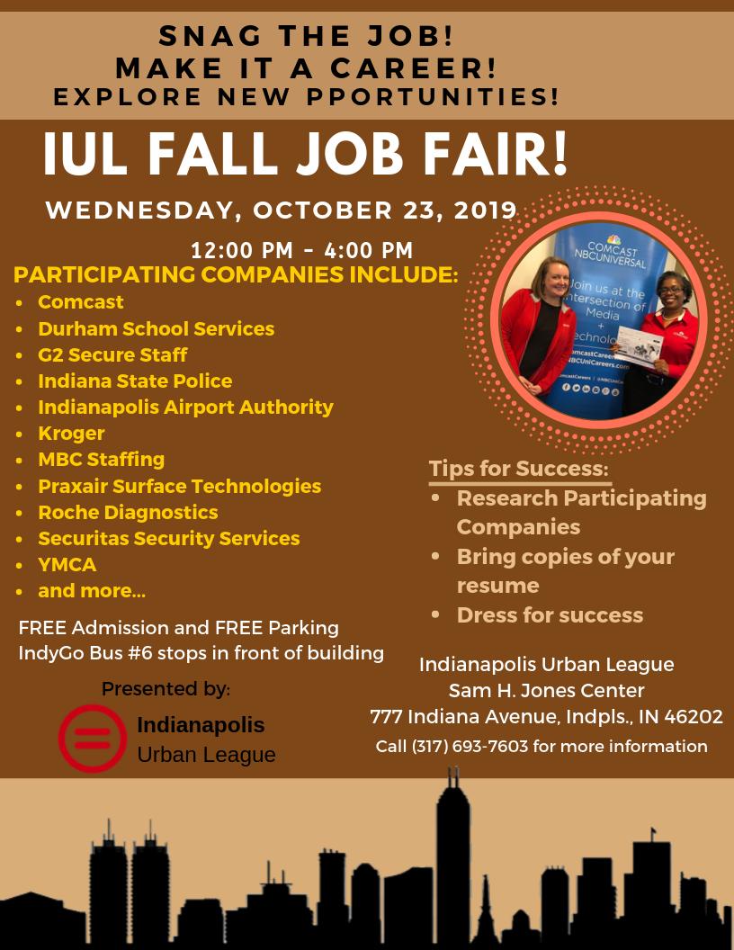 Fall Job Fair October 2019